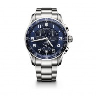 241652 - Swiss Army Watch Chrono Classic Xls   Quartz Chronograph Eta G10-211 With Diameter 45 Mm
