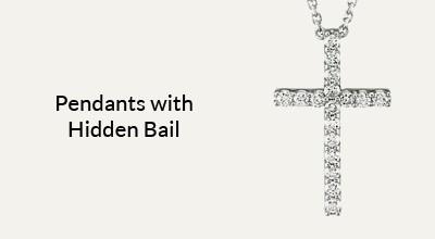 Pendants With Hidden Bail