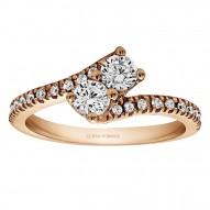 RM1551 - Diamond Two Stone Ring