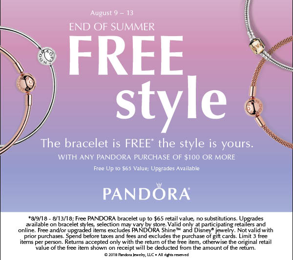 End of Summer Free Style Pandora